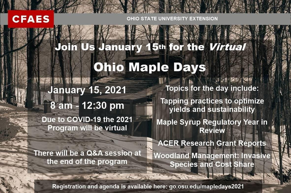Ohio Maple Days